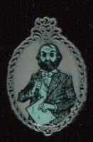 Haunted Mansion Glow In The Dark Mystery Bearded Man Disney Pin 106282