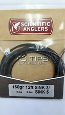 """Scientific Anglers """" Tc Tips """" 160gr 12ft Sink 3/ Sink 5 Spey Tips"""