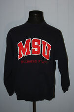 Vintage Minnesota Moorhead State Dragons Patch Script Crewneck Sweatshirt XL