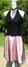Love Tease Ball Prom Dress UK12/14, Halter neck Swing Jive Net Lace Party Dance