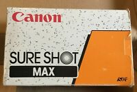 Canon sure shot max 38mm 3.5f s AF film camera Boxed with manual and case