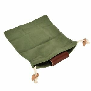 Leather Foraging Pouch Belt Fruit Picking Bag For Camping FruitCollect AU