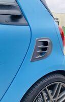 Airscoope Lufteinlass grau graphite anthrazit links smart fortwo 453 NEU