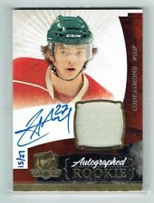 10-11 UD The Cup  Cody Almond  /27  Gold Spectrum  Auto  Patch  Rookie
