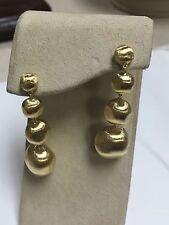 Marco Bicego 18K Yellow Gold Africa Bead Drop Earrings $2070