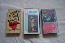 More details for 3 x duran duran vhs tapes inc:  dancing on the valentine,