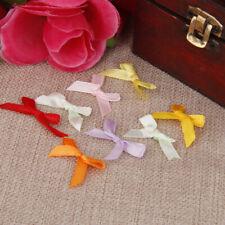 Schleifchen Schleife 25 Stück gemischte Farben Dekoschleifen Scrapbooking