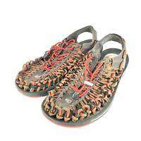 Keen Uneek Size US 9 M EU 42 Men's Sport Sandals Gray Multiple Colors