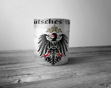 WW1 German patriotic coffee mug Deutsches Reich Iron Cross Eagle EK 1914 - 1918