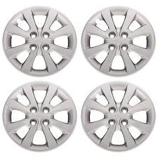 "OEM NEW 15"" Wheel Cover Hub Cap Set of 4 Silver w/Kia Logo 12-16 Rio 52960-1W150"