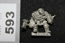 Citadel Warhammer N11 Negro orcos uncatalogued 1980s Metal Figura Orco Nick Lund
