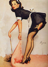 Vintage Retro 1950's Sexy Pin Up Girl Poster Print  SPU02 A4 A3 BUY 2 GET 1 FREE