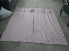 "J. C.  Penney Polyester Fabric Shower Curtain W Tiebacks 71"" L X 67"" W Mauve"