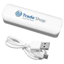 Power Bank 2200mAh Externer USB Akku Ladegerät für Wiko Rainbow Jam
