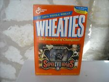 """Super Bowl VI """"Roger Staubach"""" Wheaties Limited Edition Replays Box """"Full"""" MINT"""