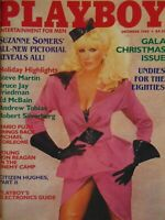 Playboy December 1984 Gala Christmas Issue | Suzanne Somers Karen Velez   #2496+