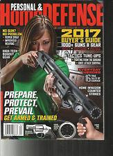 PERSONAL & HOME DEFENSE MAGAZINE, 2017 GUN BUYER'S  ANNUAL GUIDE    # 192