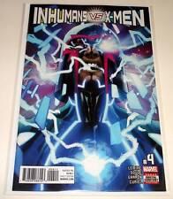INHUMANS vs X-MEN # 4  Marvel Comic  April 2017  NM