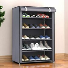 Storage Shoe Rack Hallway Cabinet Organizer Holder 4/5/6 Layers Home DIY Shelves