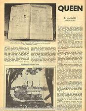 Caddo River Steamer History of Jefferson, TX +Baker,Bowie,Brooks,Chisum,Crockett