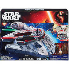 STAR WARS THE FORCE AWAKENS BATTLE ACTION MILLENIUM FALCON chewbacca droid nerf