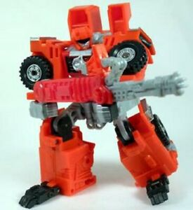 Transformers Robots in Disguise HIGHTOWER Complete Rid 2001 Red Crane landfill