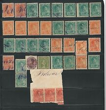 "Venezuela: Lot of ""Fisco Postales"" revenues, used, good condition inclued. VE147"