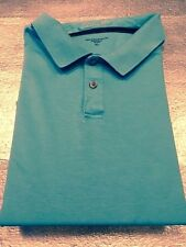 Tasso Elba Golf Polo Mens Shirt - 100% Supima Cotton - Blue - Size Xl