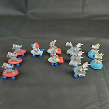 Nickelodeon Rocko's Modern Life Toy Lot 11 Characters Hardee's Meal 1994 90's