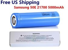 Samsung INR21700-50E 5000mAh 9.8A High Drain 3.7V 21700 Rechargeable Battery NEW