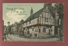 Wales Denbighshire ABERCONWY Old Temperance Hotel PPC 1906