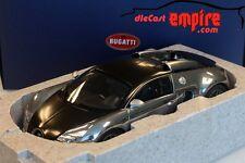 AUTOart 1/18 - BUGATTI EB VEYRON 16.4 PUR SANG - BLACK / ALUMINIUM CASTING