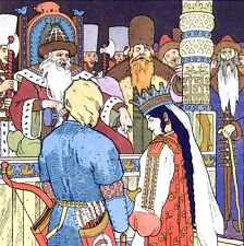 Cinq CONTES DE RUSSIE Russes Russian Ivan Bilibine(Bilibin Actes Sud Junior 1997