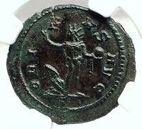 AURELIAN Authentic Ancient 274AD Genuine Roman Coin SOL CAPTIVE NGC i76290