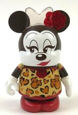 Minnie Mouse Cheetah Print Variant Disney Vinylmation Collectible Vinyl Figure