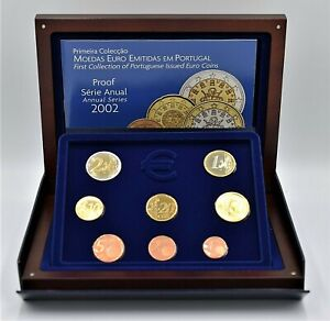 Portugal 2002 -  Proof Euro Coinset