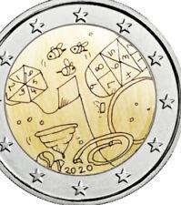 More details for malta 🇲🇹 coin 2€ euros 2020 unc f.roll comm. children games 220k mintage