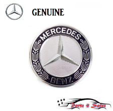 Emblem Genuine Mercedes C107 R107 W126 R129 W140 W164 X164 R170 W203 Hood Badge