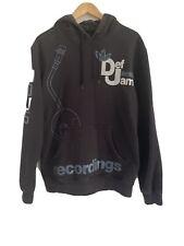 Adidas Originals Top Hoody Rare Vintage Retro Casual  Football Def jam M Black