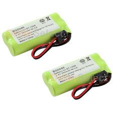 2x Home Phone Battery Pack 350mAh NiCd for Uniden BT-1008 BT1008 BT-1016 BT1016