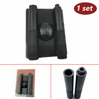 Motorcycle Metal Spring Compressor Remover Valve Splitter Tool Set 110X17mm Gray