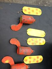 Fishing trolling (3) 9# downrigger weights free ship. Four flashers not included