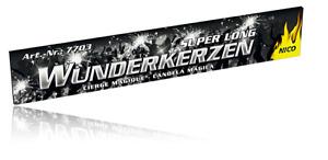 10 Riesenwunderkerzen große lange Wunderkerze 30cm Ganzjahres Feuerwerk Party