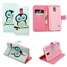 Magnetic Flip Leather Case Cover Phone Holster For Samsung Galaxy S5 SV i9600