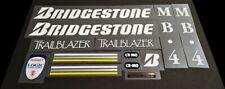 Bridgestone 1990 Mb-4 Trailblazer Bicycle Decal Set (sku Brid-S117)
