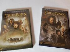 The Lord of the Rings Episodes 1 & 3: Fellowship of the Ring, Return of the King