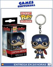 Pocket Pop llavero Capitan America Superheroe
