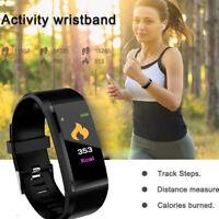NEW Bluetooth Smart Bracelet Sport Watch Step Calorie Counter Tracker Pedometer