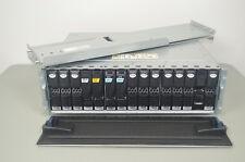 EMC VMAX 15-Bay Rackmount Storage Drive Array w/12x 600GB 15K Drives 100-562-558