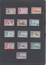 ASCENSION ISLAND 1956 PICTORIAL SET  SG.57-69 VERY LIGHTLY MOUNTED MINT & MNH